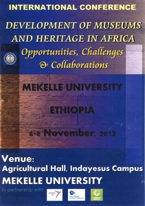 Development of Museums and Heritage in Africa