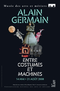 Alain Germain, entre costumes et machines